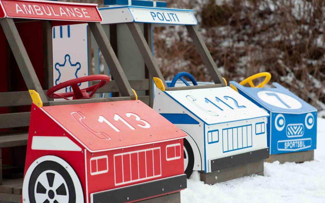 Vinn en lekebil til ditt uteområde!